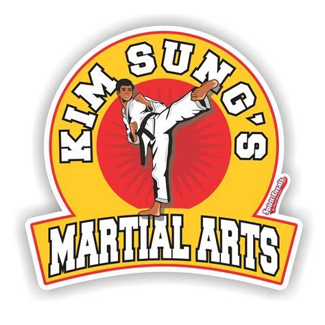 martial arts decals