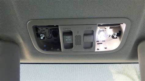 auto manual repair 2006 honda odyssey interior lighting 2006 2015 honda civic interior light bulbs replacement diy map light dome light trunk light