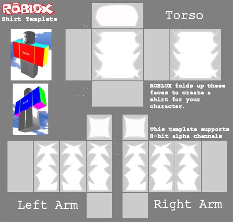 roblox shirt template maker roblox shirt template link