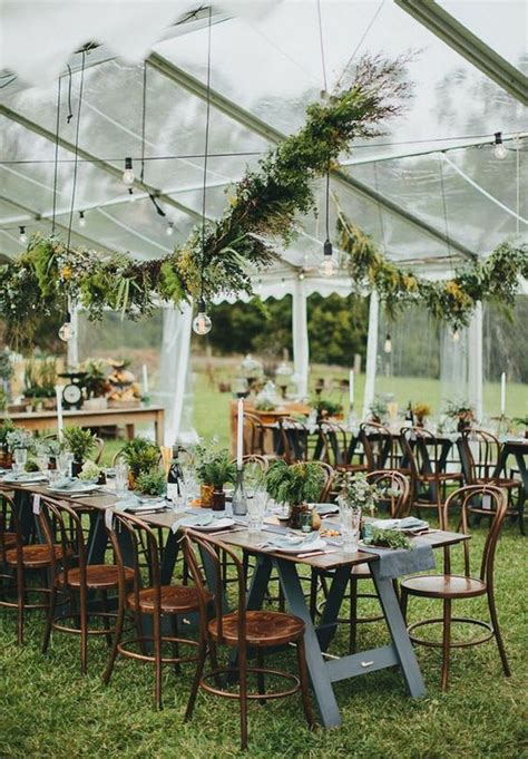 rustic garden wedding ideas wedding tents 201 how to accessorize your wedding tent