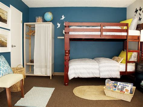 stylish bunk beds room ideas for playroom