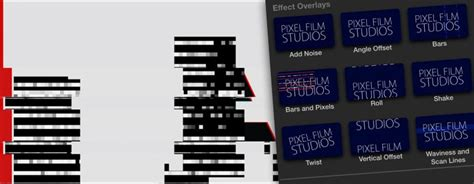 final cut pro glitch effect final cut pro x film distortion effects proglitch