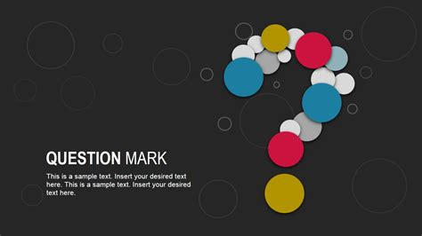 design questions creative question mark diagram for powerpoint slidemodel
