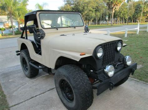 1973 Jeep Cj5 Parts Purchase New 1973 Jeep Cj5 4x4 Only 173 Hummer Tires
