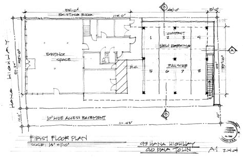 drawing floor plans by hand 1st floor plan hand drawn copy gif