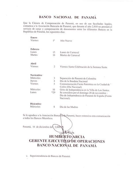 horario banco de espa a circulares superintendencia de bancos de panam 225
