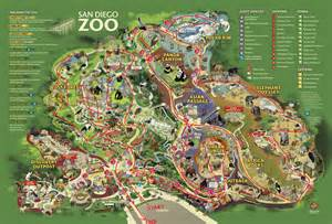 San Diego Zoo Map by San Diego Zoo Sweet Sassy And A Bit Smart Assy