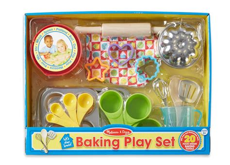 amazon cooking amazon com melissa doug baking play set 20 pcs play