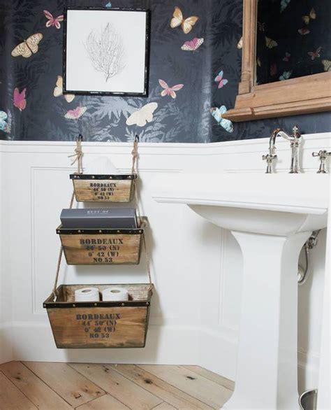 simple design hanging storage upon toilet design ideas for 15 bathroom storage designs ideas design trends