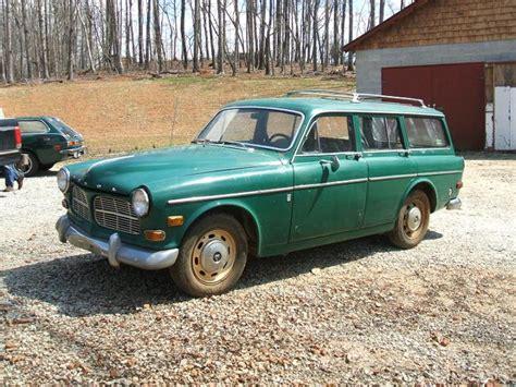 1968 volvo 122 wagon