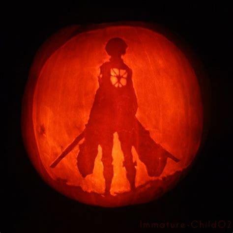 Anime Pumpkin by Attack On Titan Eren Pumpkin Fandom Anime