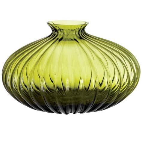 quiero floreros olive green glass vase arte en cristal floreros etc