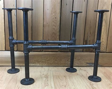 iron pipe table legs best 25 iron pipe ideas on iron pipe shelves