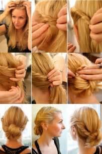 Elegant twist hairstyle step by step tutorial trend vogue