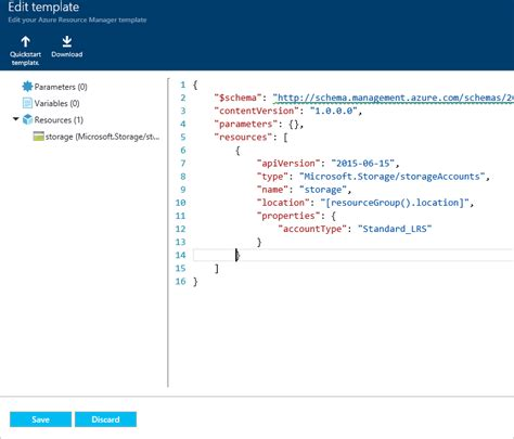use azure portal to deploy azure resources microsoft docs