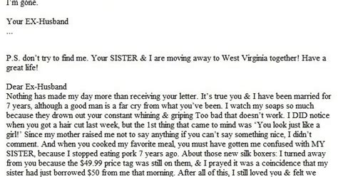 Epic Divorce Letter Lottery Epic Divorce Letter Only