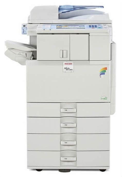 i need help printing to a ricoh aficio mp c2500 ricoh aficio mp c2051 color digital imaging system