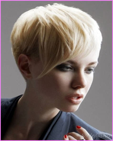 asymmetrical bob hairstyles for round faces long pixie haircuts for round faces stylesstar com