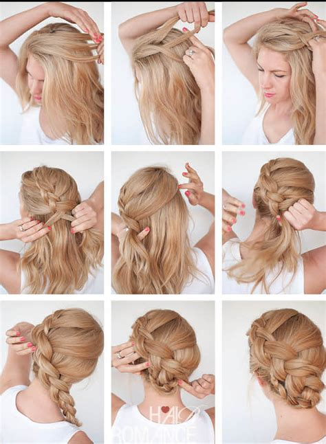 How To Make Hairstyles by How To Make A Braid How To Make Twist Braid Updo