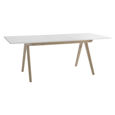 white dining table for 6 jerry 4 8 seat white extending dining table buy now at