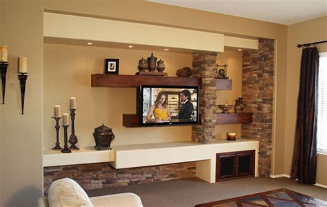 media walls living rooms media wall contemporary family room by creek furniture kitchen bath