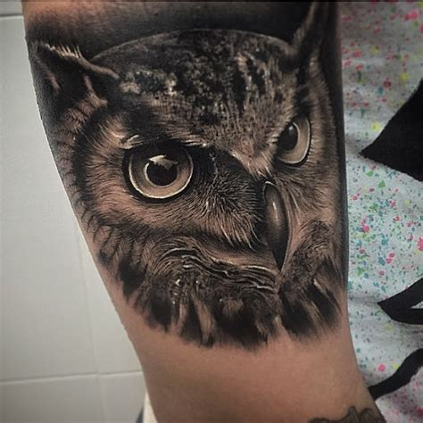 famous owl tattoos ideas