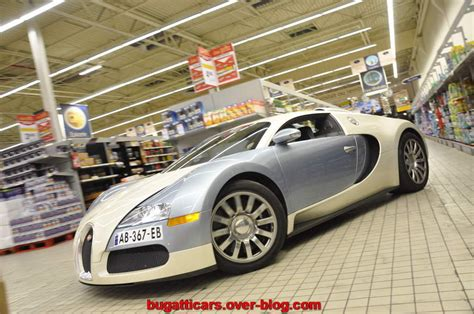 bugatti veyron store bugatti veyron on display inside a supermarket picture