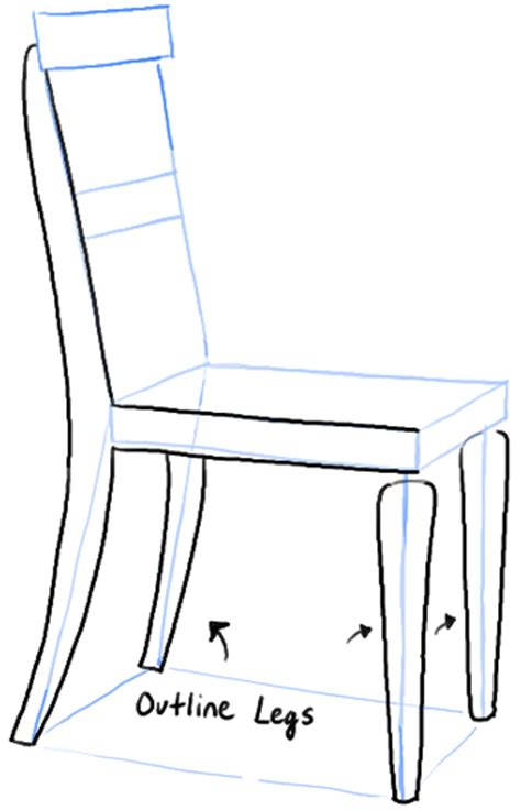 how to draw a armchair how to draw a chair in the correct perspective with easy