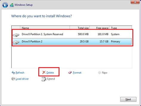install windows 10 partition how to upgrade from a 32 bit to 64 bit version of windows