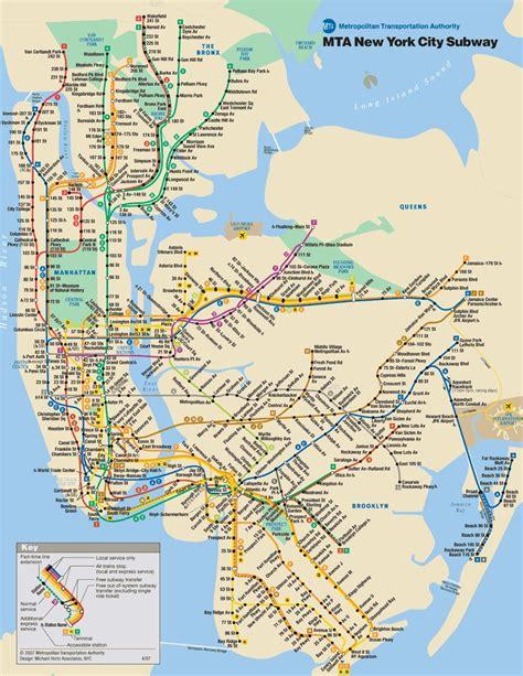 metro ny map mta shaping the future of new york
