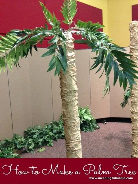 how to decorate a palm tree pin vbs decorations cake on