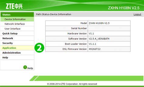 Enable Port Forwarding For The Zte Zhxn H108n V2 5 Cfos