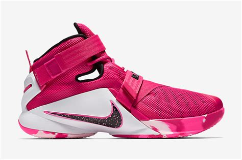 nike lebron soldier 9 think pink sneaker bar detroit