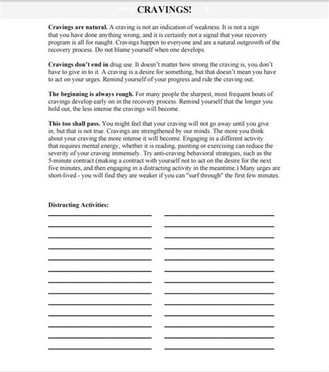 Addiction Worksheets by 17 Best Images About Addiction On National