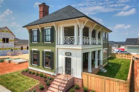 charleston sc house plans charleston style home with double porch and brick