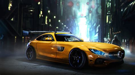 Amg Car Wallpaper Hd by Mercedes Amg Gt Wallpapers Hd Wallpapers Id 23348