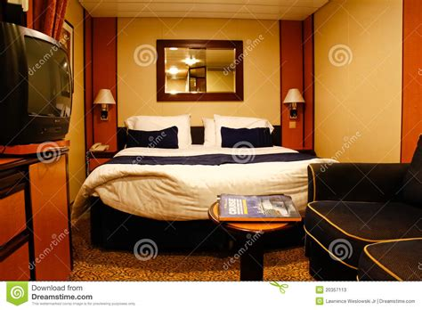 Inside Cabin Cruise by Cruise Ship Inside Cabin Stateroom Editorial Stock Photo