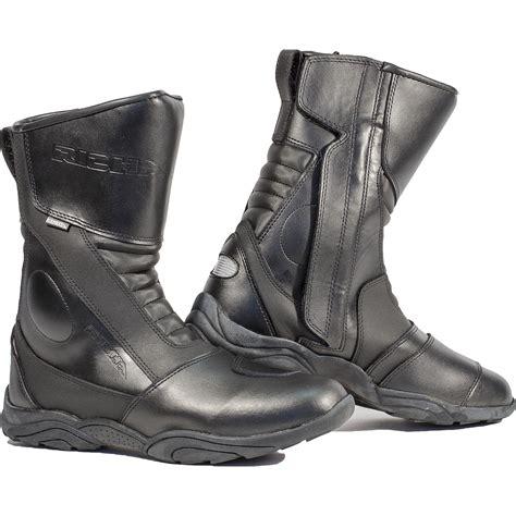 waterproof leather motorcycle boots richa zenith motorcycle boots waterproof zip bike leather