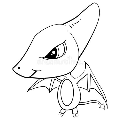 Galerry flying dinosaur coloring page