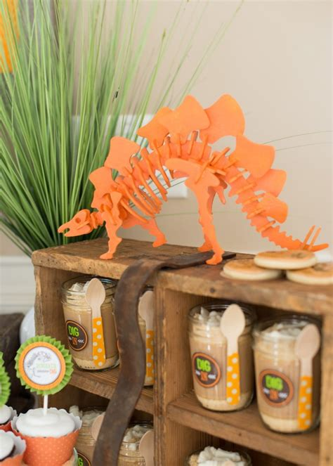 Dinosaurs Decorations by Pierson S Dinosaur Dig Birthday A Dinosaur