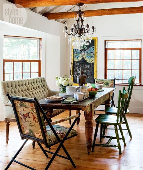 dining table with mismatched chairs mismatched chairs around a dining table toronto designers