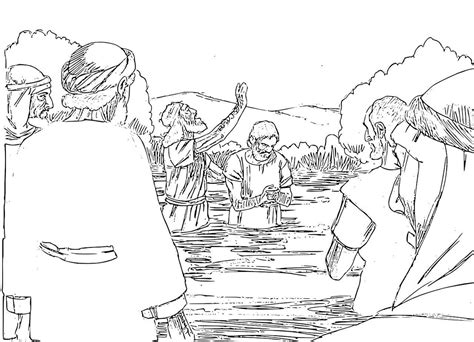 free bible coloring pages of john the baptist john the baptist coloring pages