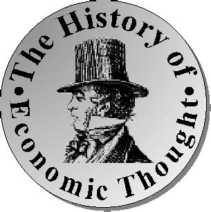 History Of Economic Thought history of economic thought front page