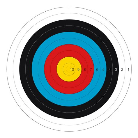 l target tir 224 l arc sur cible world archery