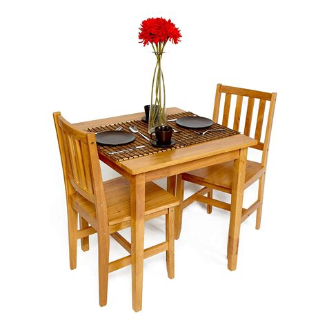 Kitchen Bistro Table And 2 Chairs Table And Chairs Set Dining Bistro Small Cafe Tables Wood Wooden 2 Chair Kitchen