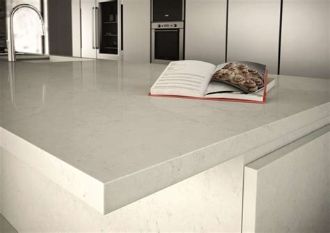 Ceasar Stone Bench Tops Caesarstone Frosty Carrina