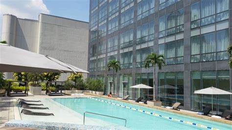 best price on fairmont makati in manila reviews pool from bar picture of fairmont makati makati