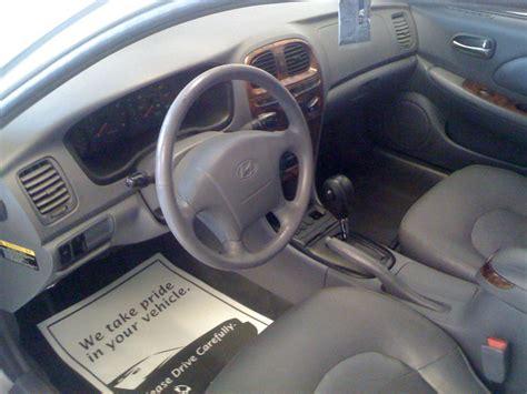 Hyundai Elantra 2000 Interior by 2000 Hyundai Sonata Interior Pictures Cargurus