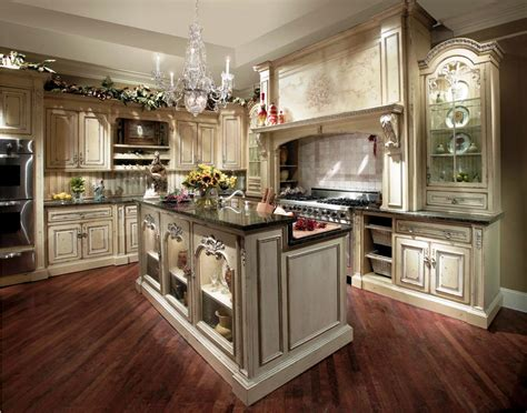 French White Kitchen Cabinets by French Country Kitchen Cabinets Design Ideas