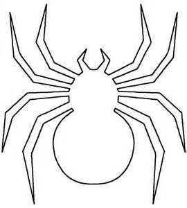 spider template spider web cut out template